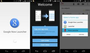How to install Google Now Launcher