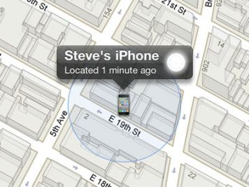 Locate my iPhone
