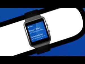 PayPal app on Gear2