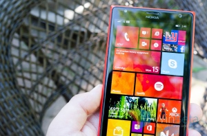 Microsoft phones are growing in popularity with business
