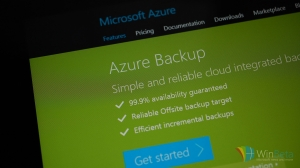 Microsoft Azure Backup now available for Windows 7, Windows 8, and Windows 8.1